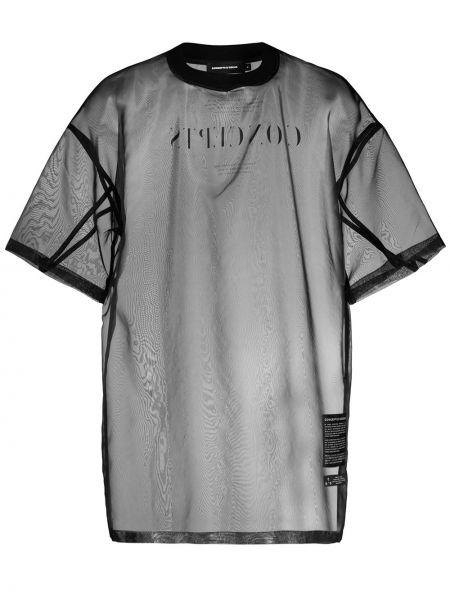 Черная футболка Odeur