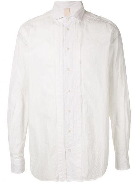 Классическая рубашка с воротником свободного кроя на пуговицах Forme D'expression