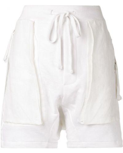 Белые шорты с карманами Thom Krom