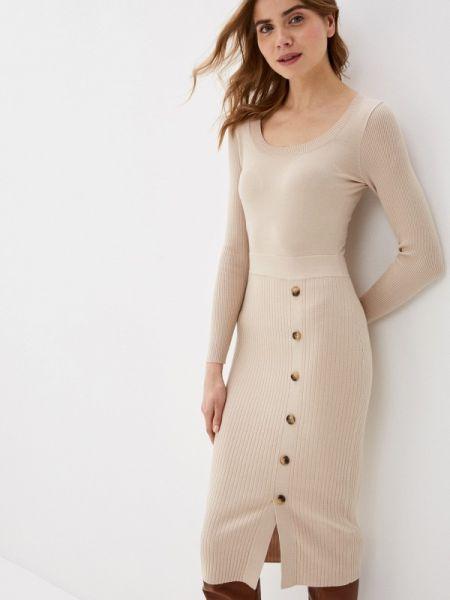 Платье - бежевое Zarina