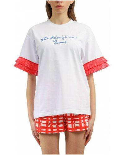 Biała t-shirt Stella Jean