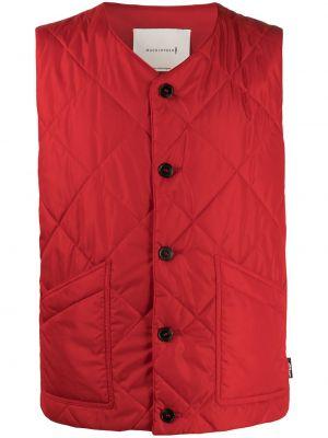 Стеганый жилет - красная Mackintosh