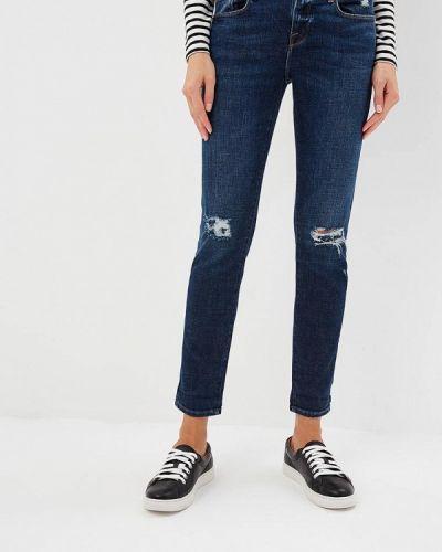 Синие джинсы-скинни Frame