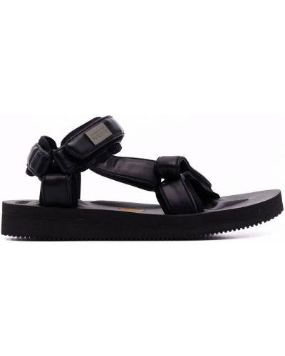 Кожаные сандалии - черные Suicoke