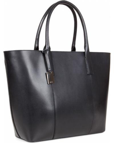 Кожаная сумка шоппер сумка-мешок Ecco