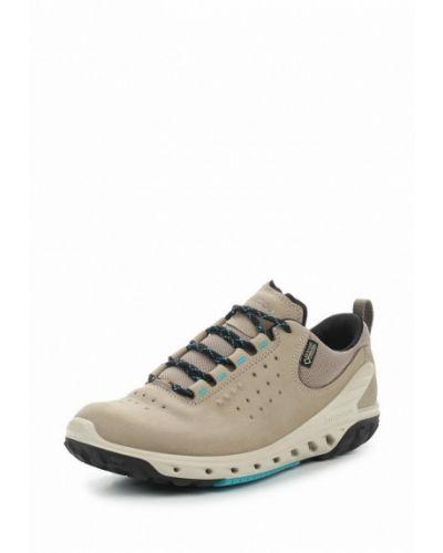Бежевые кроссовки Ecco