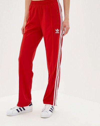 Спортивные брюки красный Adidas Originals
