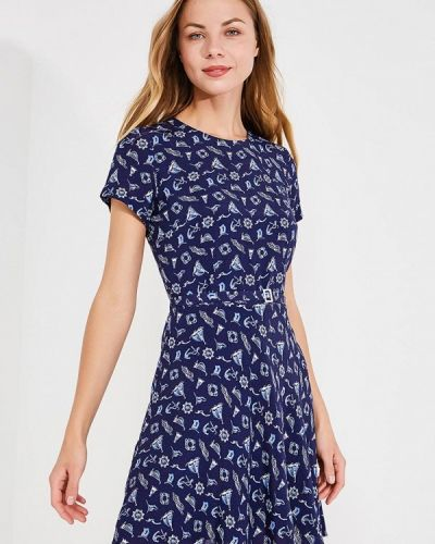 Синее платье Polo Ralph Lauren