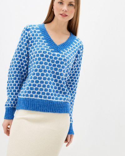 Синий пуловер By Swan