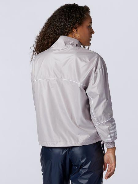 Розовая куртка на молнии на резинке New Balance