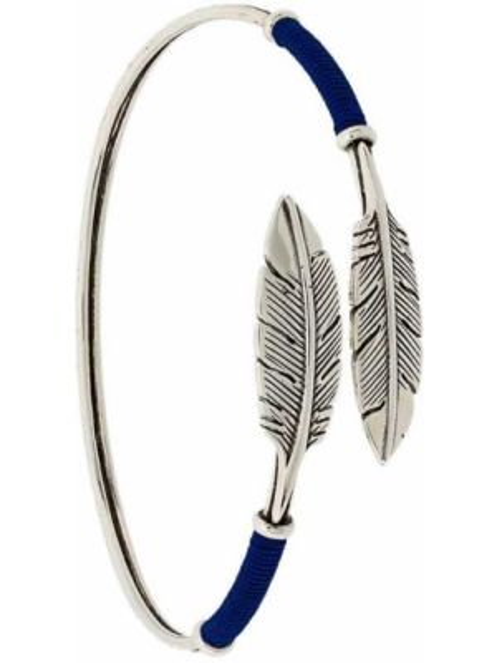 Bransoletka srebrna - niebieska Gas Bijoux