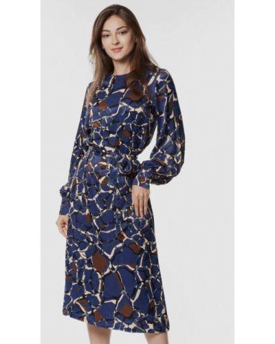 Повседневное платье - синее Arber