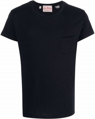 Черная футболка короткая Levi's Vintage Clothing