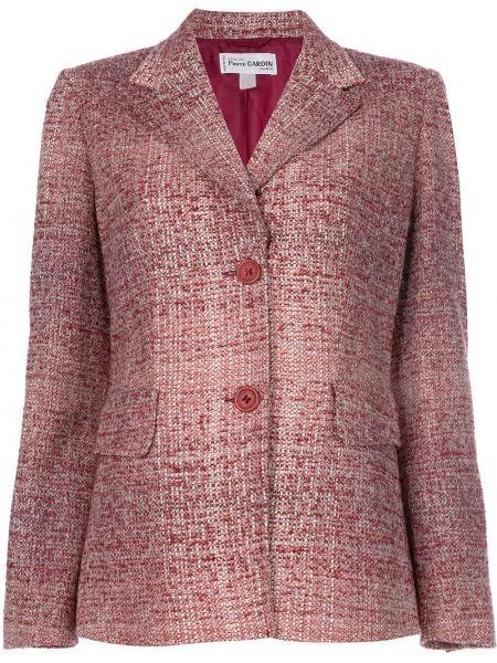 Пиджак букле на пуговицах винтажный Pierre Cardin Pre-owned