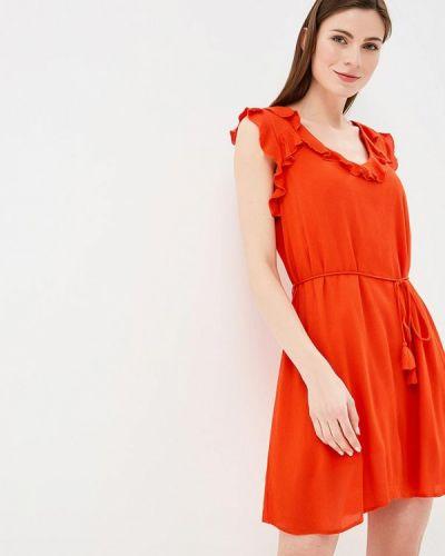 Оранжевое платье River Island