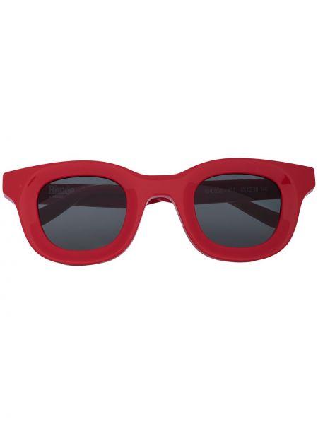 Прямые солнцезащитные очки круглые с завязками Thierry Lasry