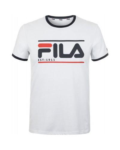 Спортивная футболка с логотипом хлопковая Fila