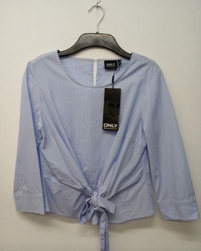 Блузка - голубая Jennyfer