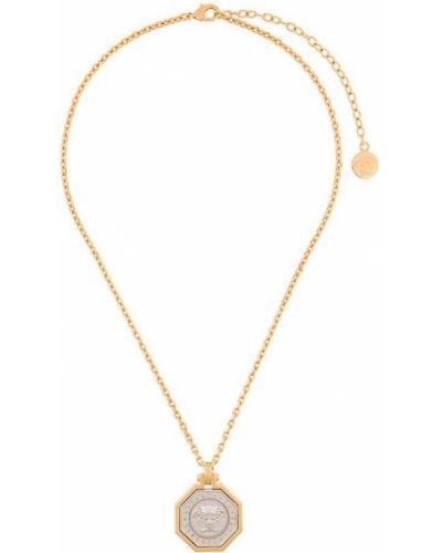 Ожерелье золотой серебряный Versace