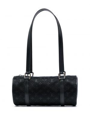 Czarna torebka mini skórzana Louis Vuitton