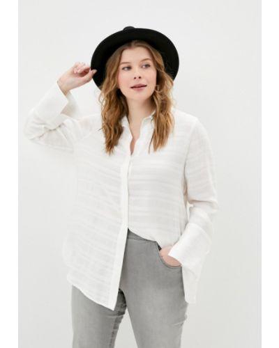 С рукавами белая блузка Ulla Popken