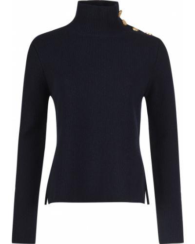 Шерстяной свитер - синий Red Valentino