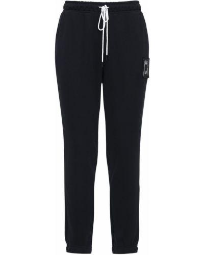 Czarne joggery bawełniane Puma Select