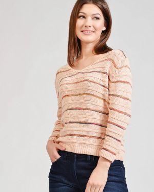 Хлопковый бежевый пуловер Pezzo