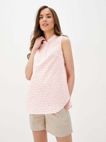 Блузка без рукавов розовая весенний Mammysize