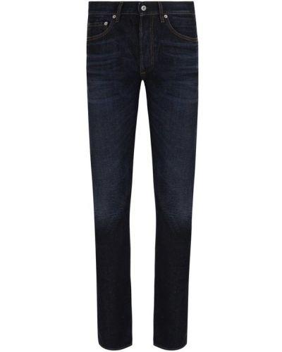 Прямые джинсы с вышивкой делаве Stone Island