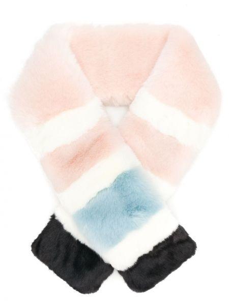 Акриловый розовый шарф La Seine & Moi