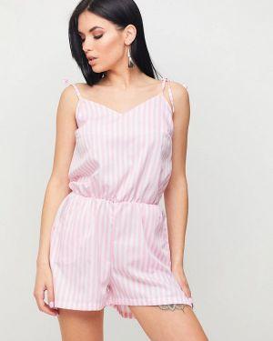 Комбинезон с шортами - розовый Karree