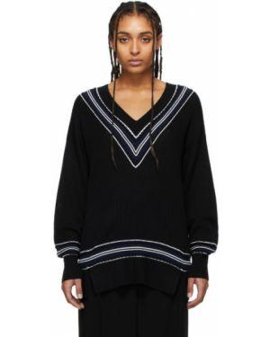 Sweter z kołnierzem w klatce Rag & Bone