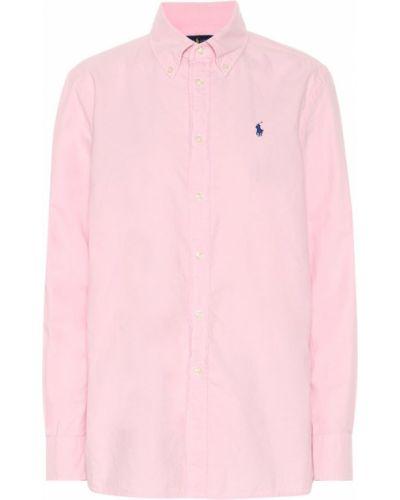 Классическая рубашка оксфордская с вышивкой Polo Ralph Lauren