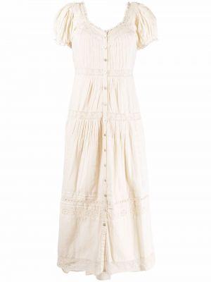 Белое платье макси длинное Loveshackfancy