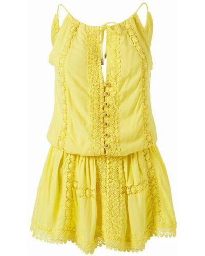 Tunika - żółta Melissa Odabash