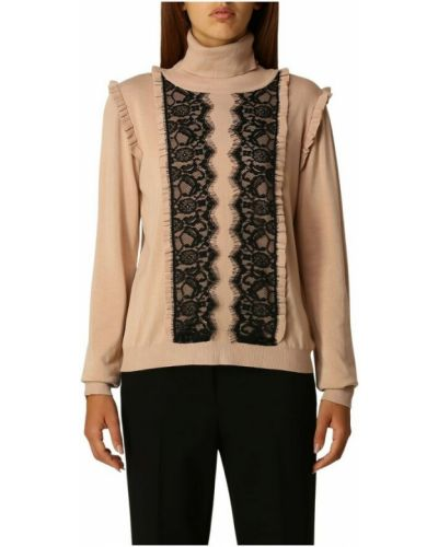Beżowy sweter Anna Molinari