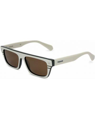 Białe okulary Polaroid