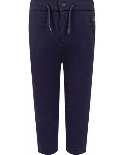 Синие хлопковые брюки Mayoral