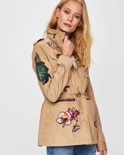Куртка с капюшоном облегченная с карманами Desigual