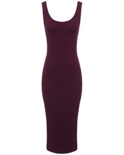 Красное платье из вискозы Monrow