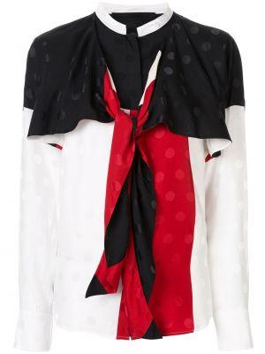 Шелковая блузка - белая Haider Ackermann