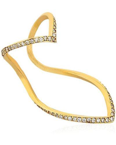 Biały złoty pierścionek z diamentem Seeme