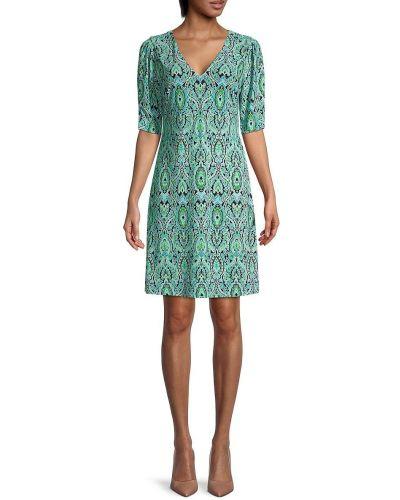 Купальное платье с V-образным вырезом Tommy Hilfiger