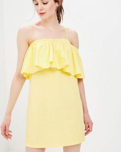 Платье с открытыми плечами весеннее Tommy Hilfiger