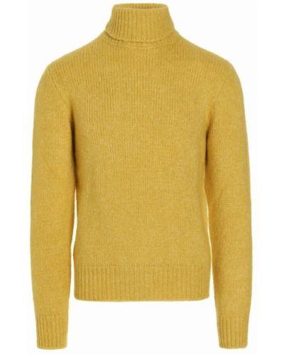 Sweter - żółty Doppiaa