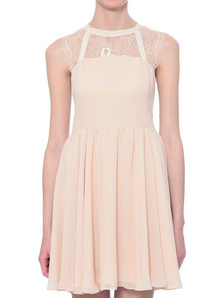 Платье из полиэстера - бежевое Iblues