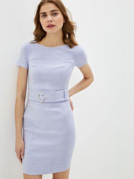 Платье футляр фиолетовый Ruxara
