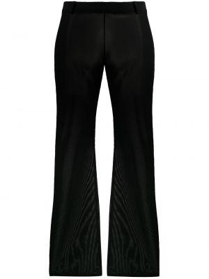 Черные брюки с воротником с поясом Dolce & Gabbana Pre-owned