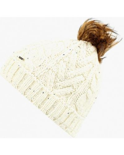 Белая шапка осенняя Luhta